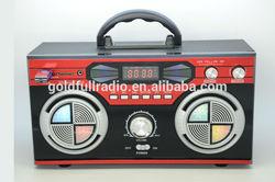 Dongguan High Quality Multimedia Digital Display Portable Disco Light Radio