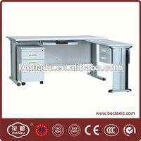 executive desk office table design/ steel office furniture/ most popular manufacturer