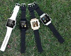 3G GPS tracker watch phone with wifi skype mtk6577
