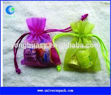 wedding favor organza drawstring bags wholesale