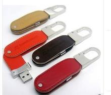 Cheapest leather usb stick 256gb usb 2.0 flash drive free sample leather flash memory