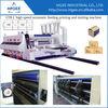 China manufacture Auto paper feeding cardboard printing slotting die cutting machine