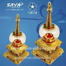 golden oriental Pearl Tower souvenir crafts