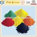/rojo negro/amarillo/naranja óxido de hierro colorante/pigmento/de pintura