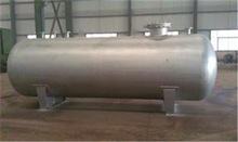 horizontal type stainless steel oil tanks with high quality material