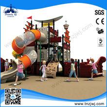 Cute Wholesale Outdoor children plastic playground pirate ship
