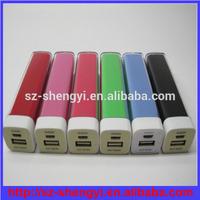 2014 Custom Logo OEM 2600mAh micro usb portable battery charger