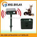 Gato repeller, animal repeller, solar gato preto defletor, ultrasonic defletor gato