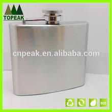 5 OZ Portable Men's stainless steel wine flagon Hip Flask Outdoor Travel drink wine bottle