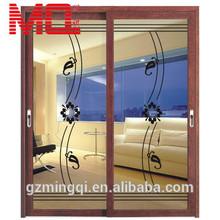 Aluminum sliding glass door hook lock