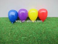 hot sale mini decorative model balloon,2.5 cm x3cm colorful modeling balloon for model building