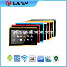 Processor 1.5Ghz cheap tablet 2013 super slim 7 inch MID Q88