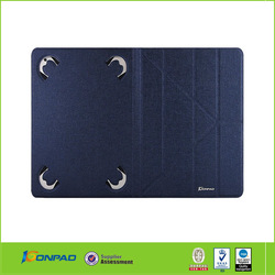 Fashion classic design PU leather 8 tablet cases covers