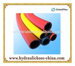 yellow flexible PVC Gas cooker hose
