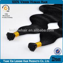 Wholesale 100% Human Brazilian Remy Cheap Natural Hair I Tip