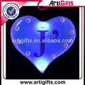promozione a forma di cuore illuminato pins
