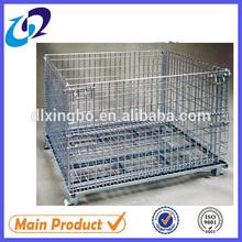 galvanized storage industrial rectangular wire cage