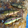 Jointed swim fishing lure hard wooden new fishing lures for 2014