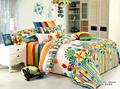 2014 miúdos novos projetos de algodão impresso cama de tecido