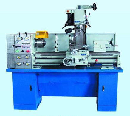 Drill+mill/banc de métal tour à rabais avec du ce de made in china