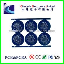 Blue solder mask LED bulb PCB