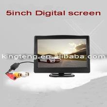 5Inch Digtal Screen LCD Car Monitor(KT-5033)