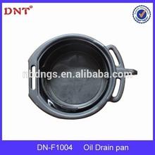 15L plastic oil drain pan for repair cars /manufacture/professional high quality auto repair tools