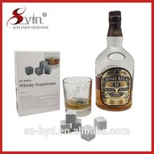 non tossico e riciclare naturale in pietra ollare whisky pietre personalizzati
