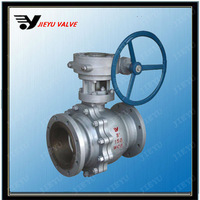 api Worm Gear Operated Type Flanged Ball Valve