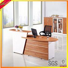 Customized company reception desk melamine reception desk