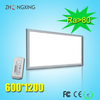 Square led panel 60x120cm with three years warranty