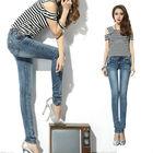 Hot sale women sex jeans pants