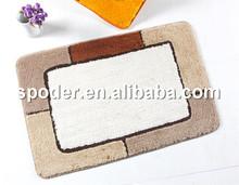 Hot sales printed microfibre polyester bath mats
