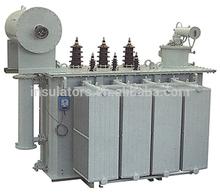 SZ9-10KV / 35KV Oil Immersed Distribution Transformer with On Load Tap Changer