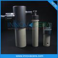De haute précision en céramique d'alumine haute pression pompe à piston de remplissage de liquide/innovacera