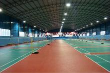 Litchi Grain PVC Sports Flooring Indoor Badminton Professional Usage