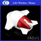 Fashionable gifts custom logo 2.4g wireless airplane computer mouse