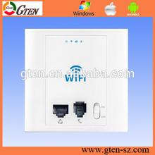 300Mbps POE supply wireless ap for hotel/enterprise wifi