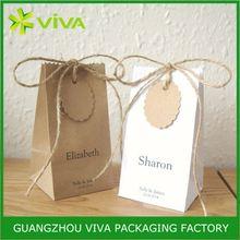 Cheap customized brown sack kraft paper cement bag