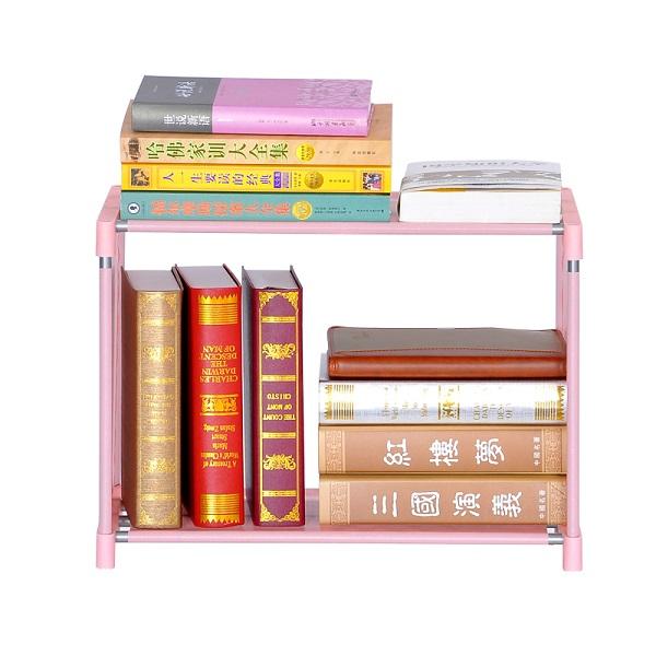 Sw rosa bonito Modern útil hot sale cheap livro aço gabinete rack de armazenamento multifuncional