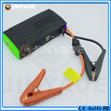 car jump starter portable emergency power pack mini car battery jumper lipo battery jump starter