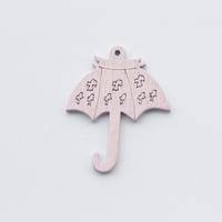 35mm pink mdf wood crafts umbrella art minds wood crafts