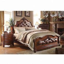 elegant solid wood bed