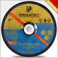 9'' 230x6x22.2mm discos amoladora/moledora/esmeril abrasivo con en12413 mpa
