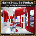 2015 madeira venda quente moderno salão de beleza de móveis