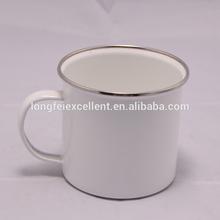 High quality 8cm plain black white ceramic mugs