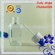 20ml square vapor eliquid bottle,glass dropper,child proof cap