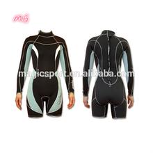 2mm long sleeves neoprene diving suit