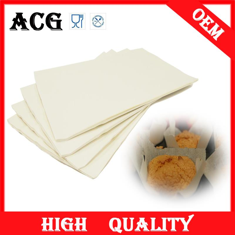 hot sale manufacture food baking paper piece roll