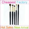 Makeup Artist Studio Wholesale Cheap Eye Makeup Brush with Cosmetic Eyebrow Eyeshadow Brush Set